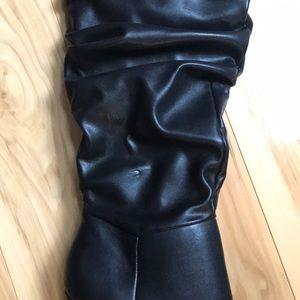 Christian Siriano Shoes - Christian Siriano heeled slouch boot.  NWT
